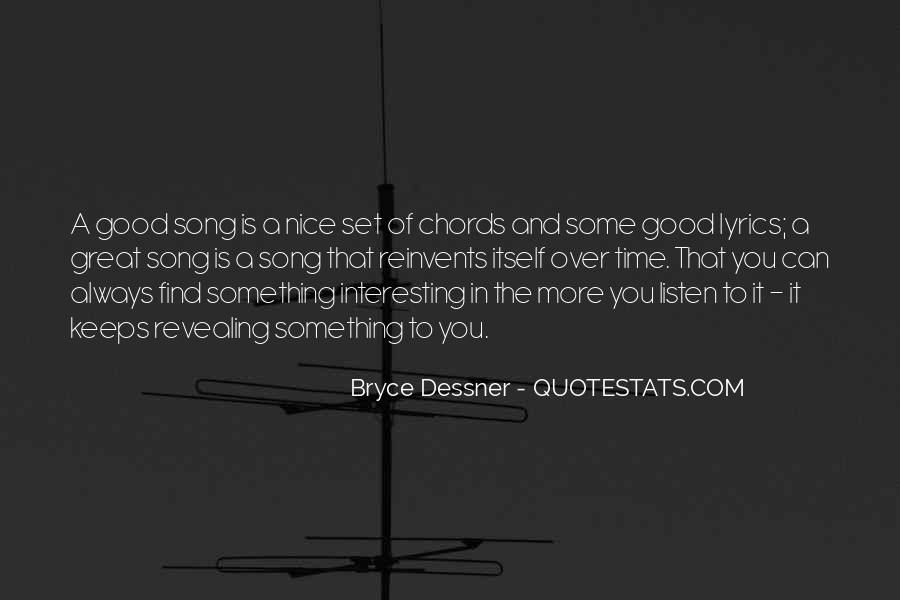 Bryce Dessner Quotes #501556