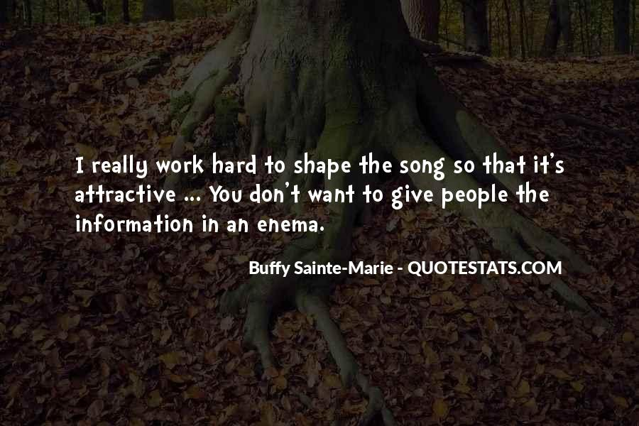 Buffy Sainte-Marie Quotes #1249093