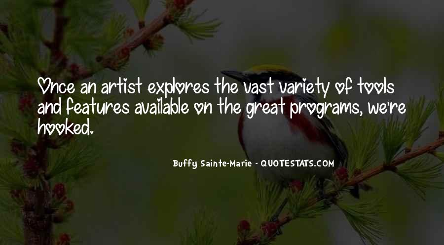 Buffy Sainte-Marie Quotes #169581