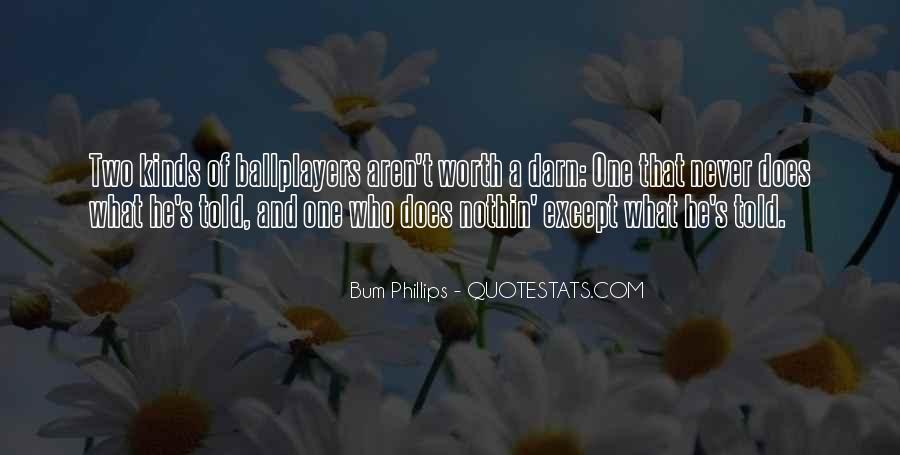 Bum Phillips Quotes #106951