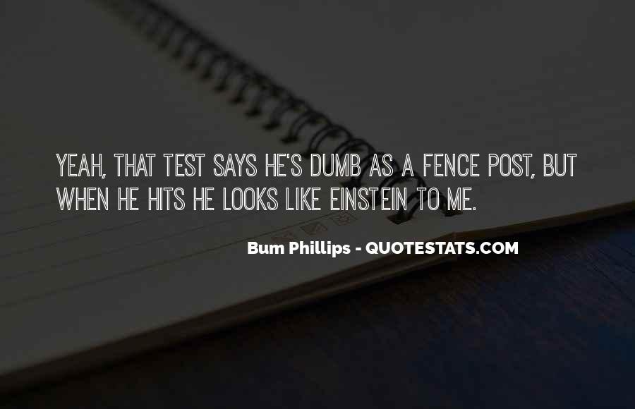 Bum Phillips Quotes #1130965