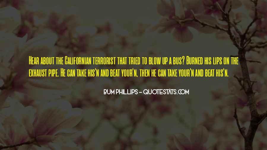 Bum Phillips Quotes #1247720