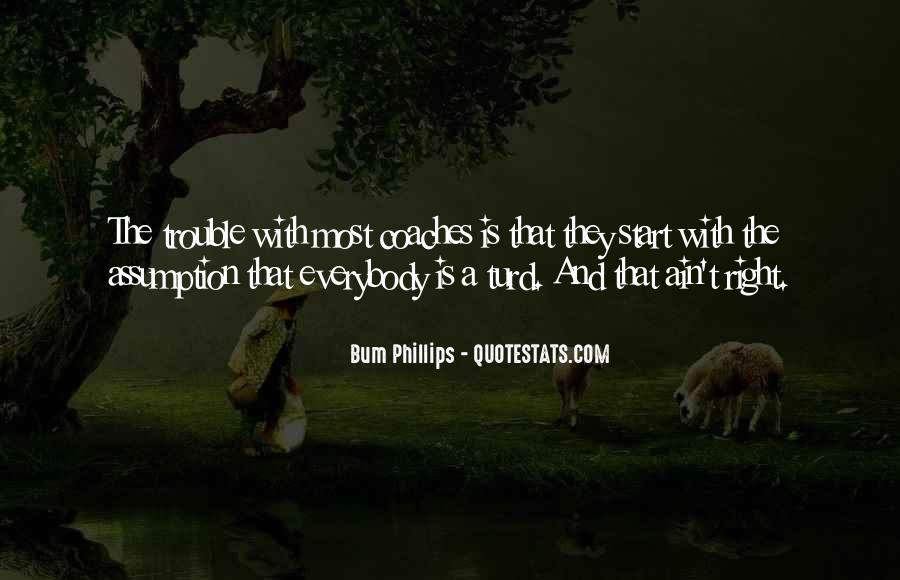 Bum Phillips Quotes #1258817