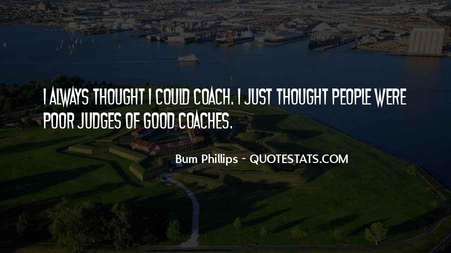 Bum Phillips Quotes #48993