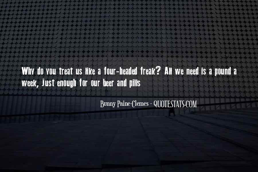 Bunny Paine-Clemes Quotes #489605