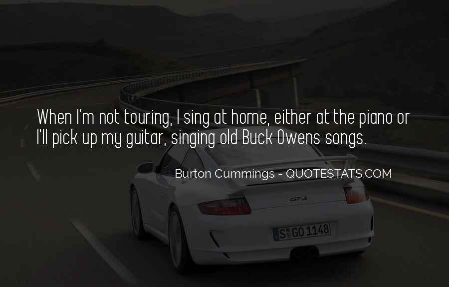 Burton Cummings Quotes #690667