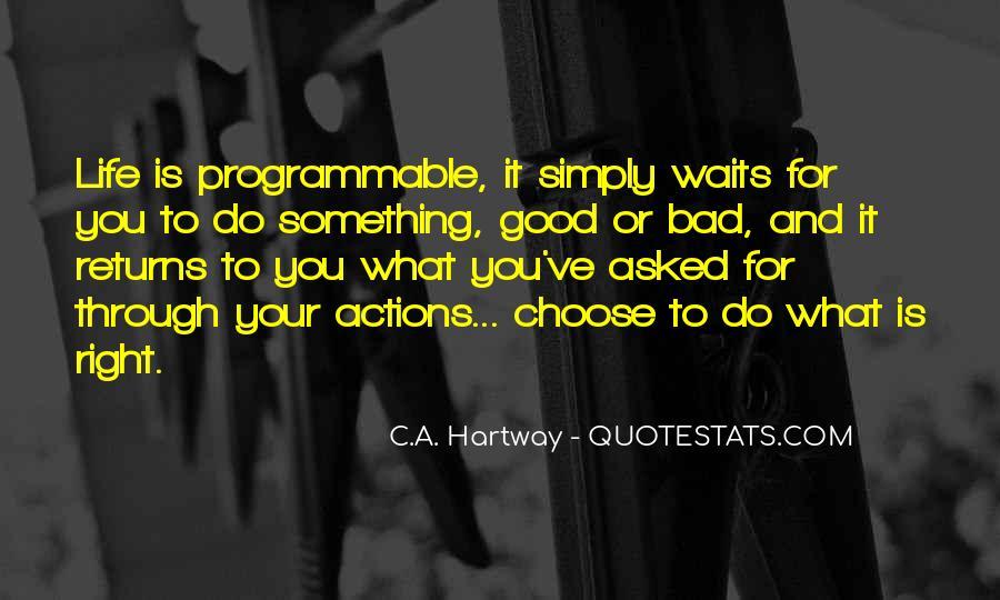 C.A. Hartway Quotes #205444