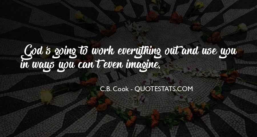 C.B. Cook Quotes #1089485