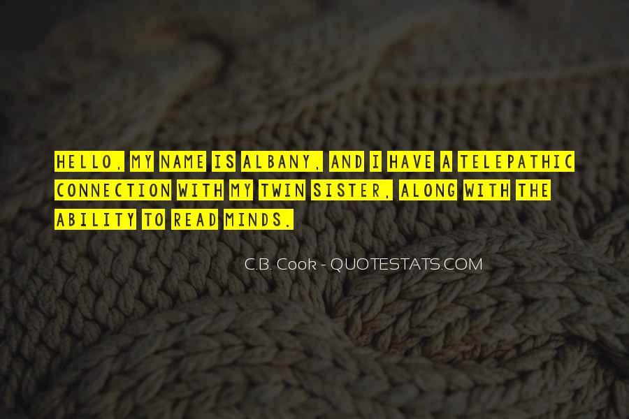 C.B. Cook Quotes #113220