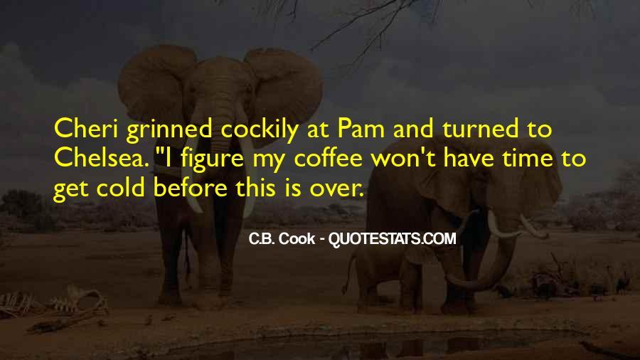 C.B. Cook Quotes #12230