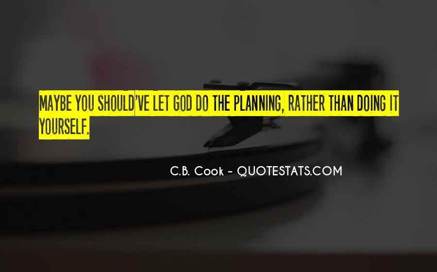 C.B. Cook Quotes #15596