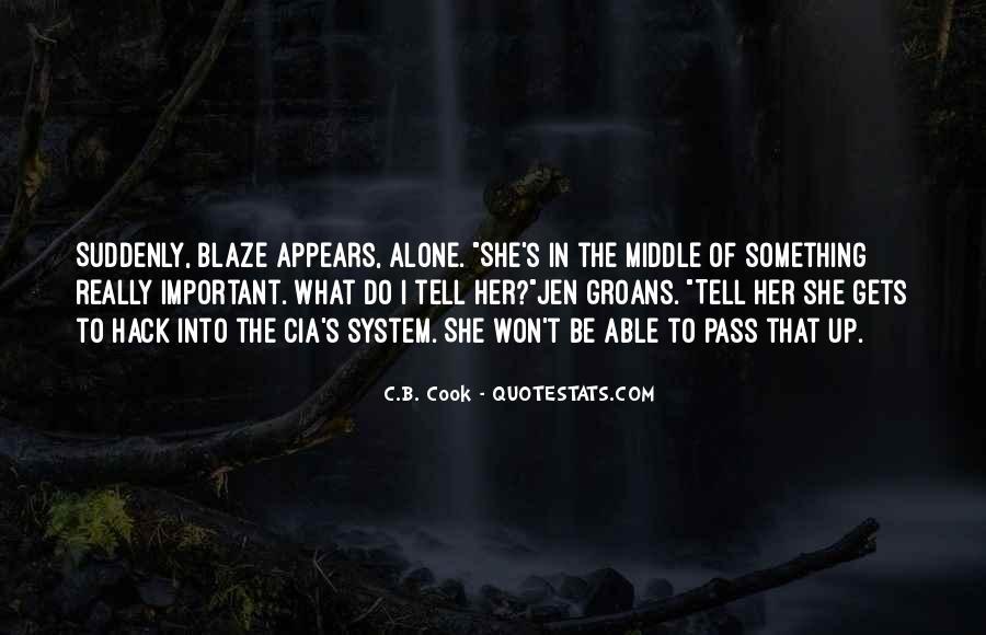 C.B. Cook Quotes #1625745