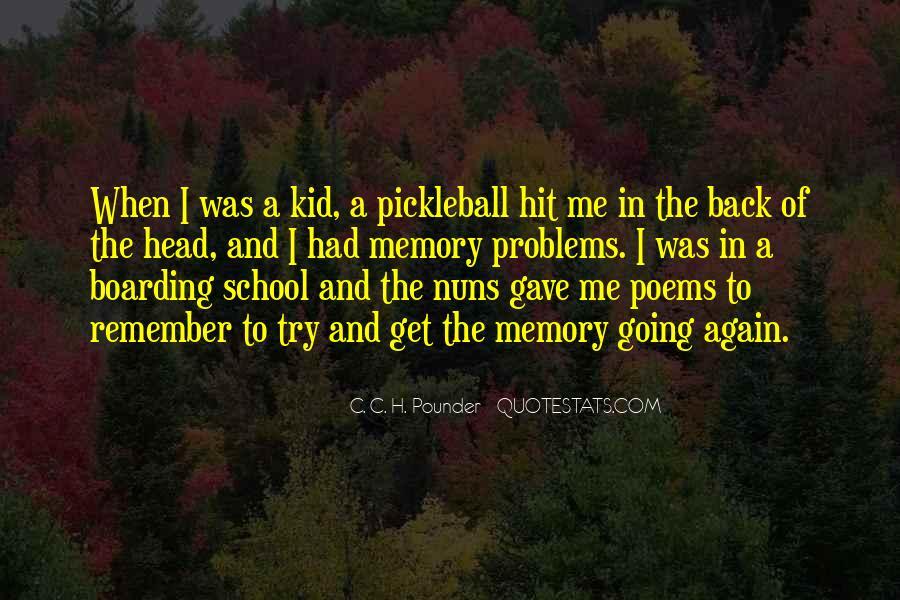 C. C. H. Pounder Quotes #386694