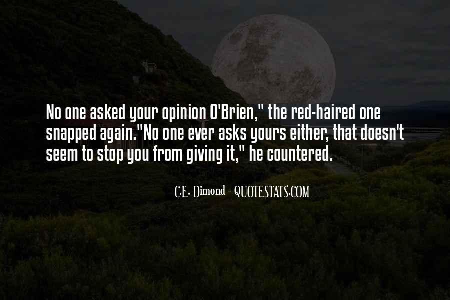 C.E. Dimond Quotes #264834
