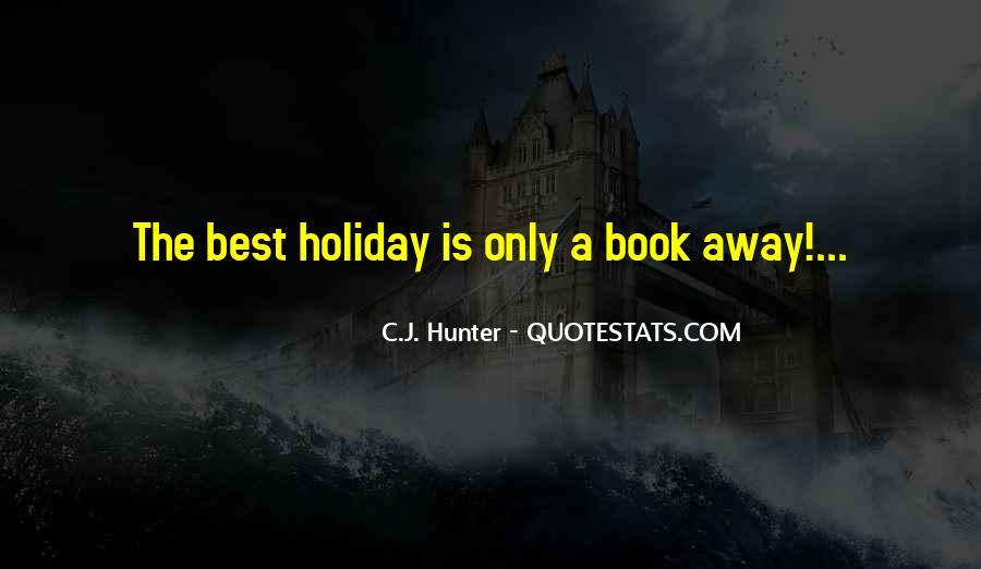 C.J. Hunter Quotes #1178701