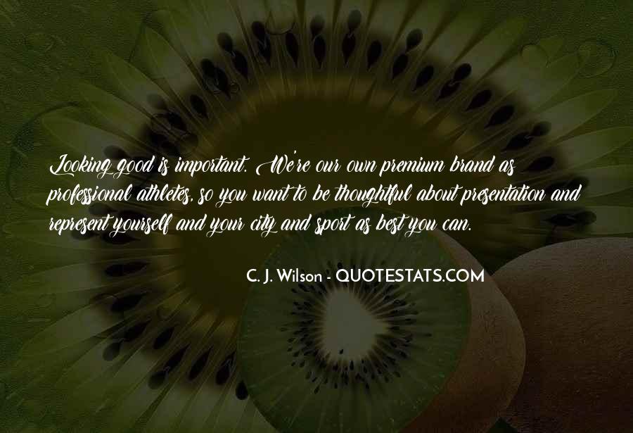 C. J. Wilson Quotes #304345