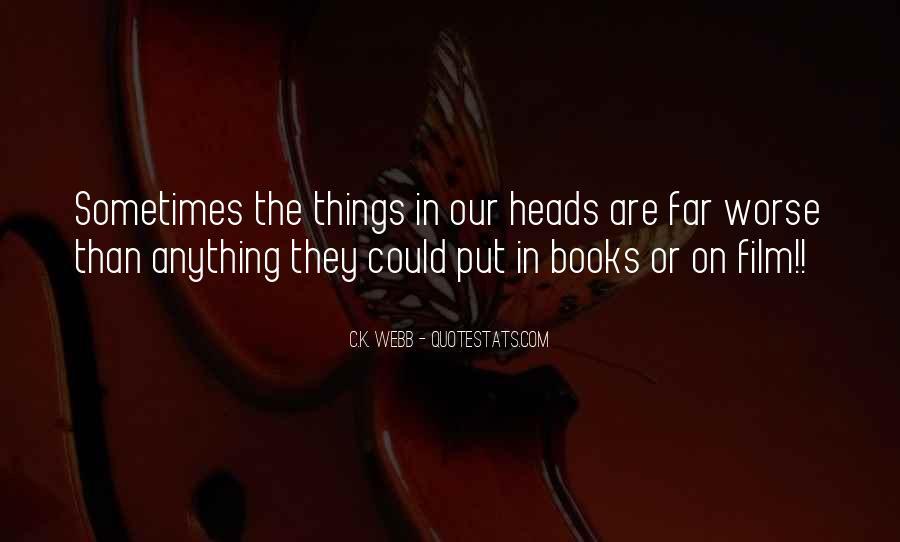 C.K. Webb Quotes #1000652