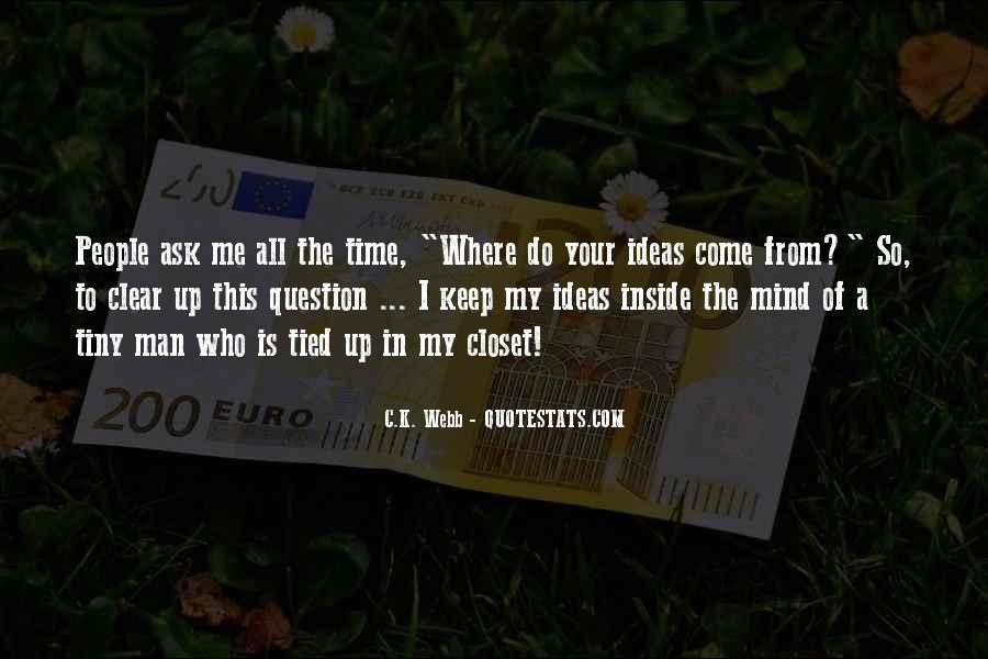 C.K. Webb Quotes #189744