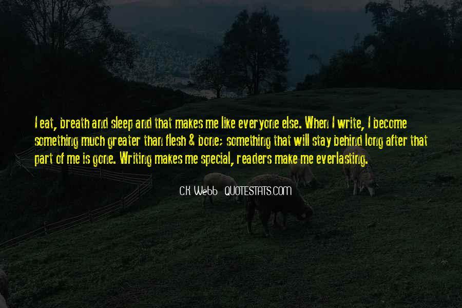 C.K. Webb Quotes #42959
