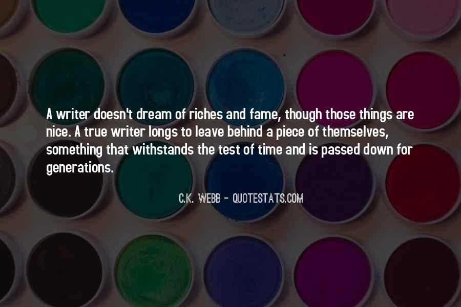 C.K. Webb Quotes #597572
