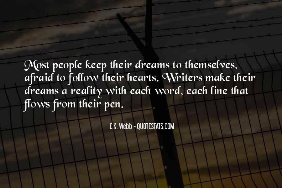 C.K. Webb Quotes #665878