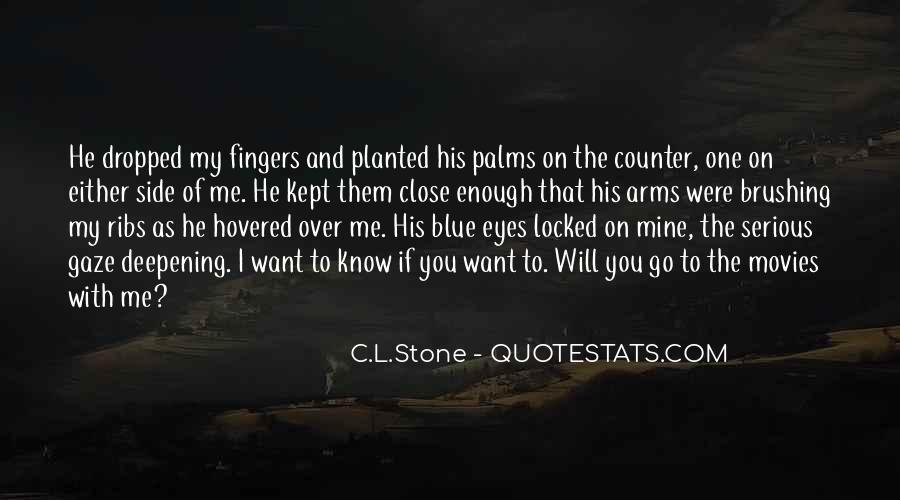C.L.Stone Quotes #1337245