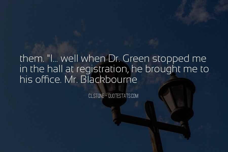 C.L.Stone Quotes #1385923
