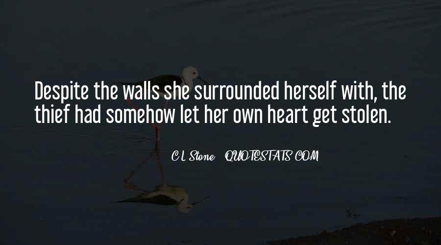C.L.Stone Quotes #361123