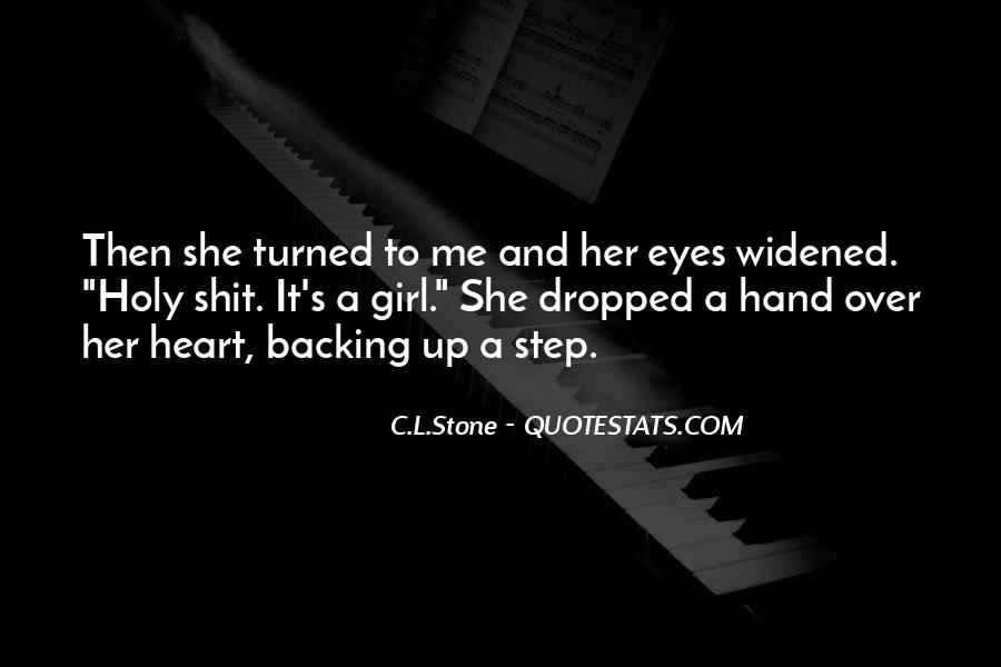 C.L.Stone Quotes #462653
