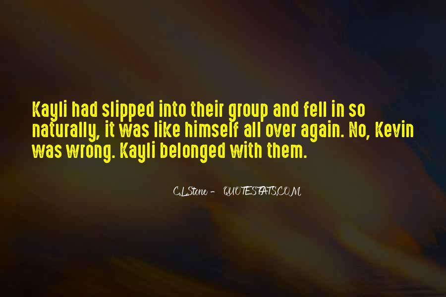 C.L.Stone Quotes #598602