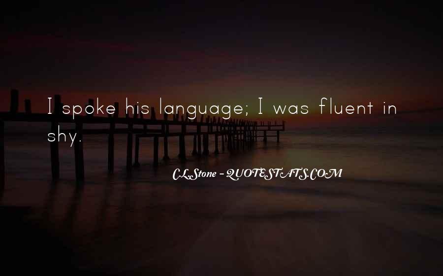 C.L.Stone Quotes #751835