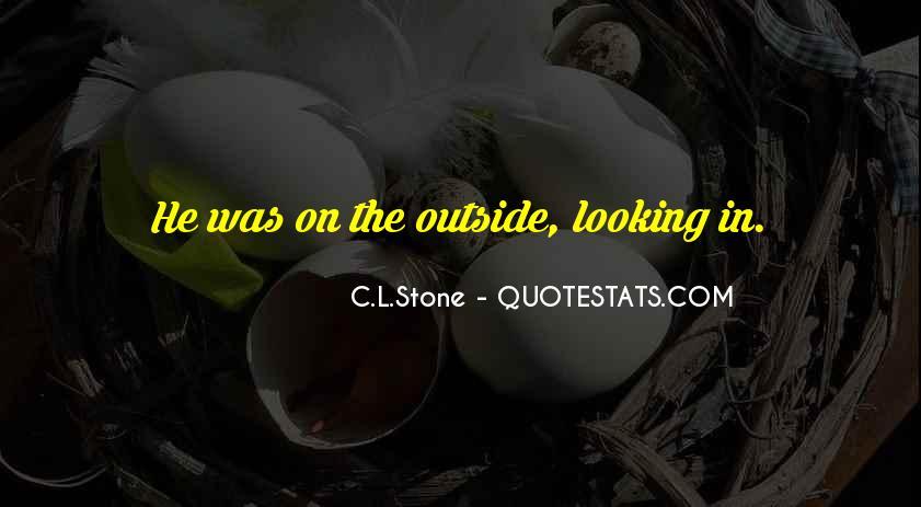 C.L.Stone Quotes #90052