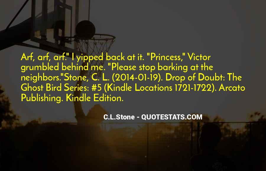 C.L.Stone Quotes #941682