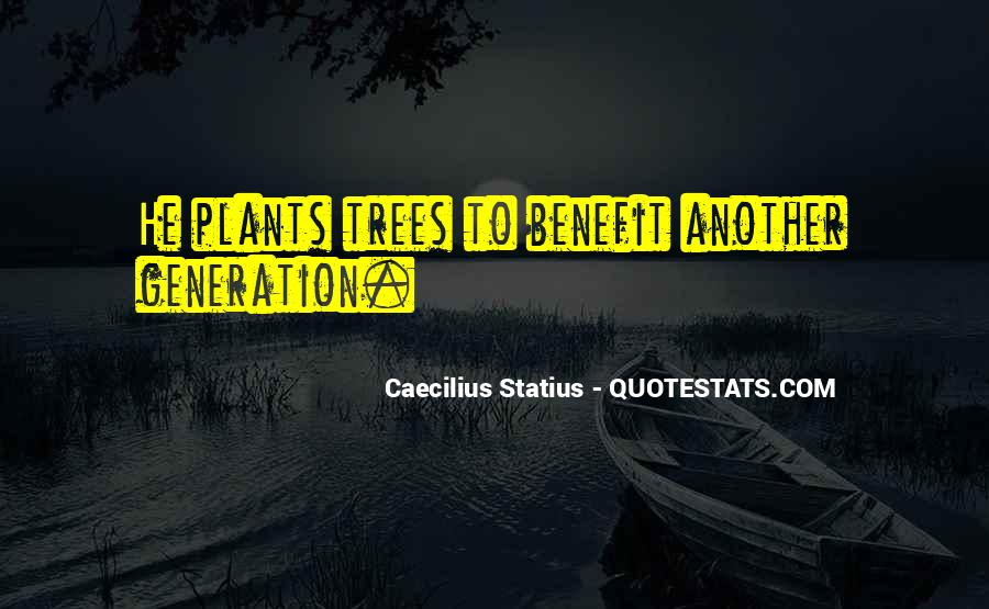Caecilius Statius Quotes #1608238