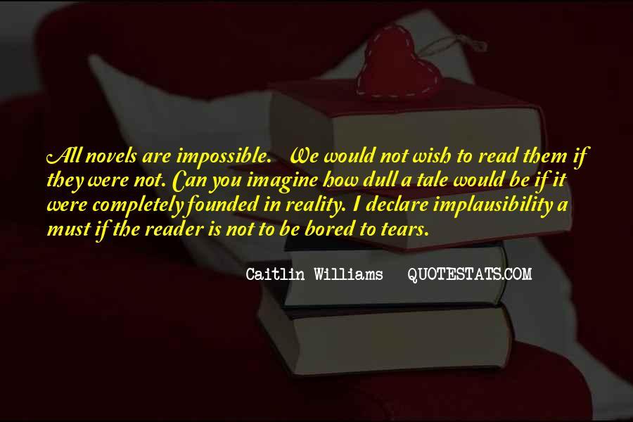Caitlin Williams Quotes #640736