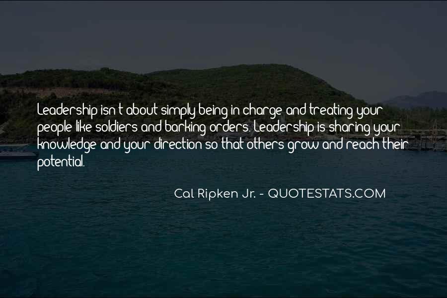 Cal Ripken Jr. Quotes #1050488