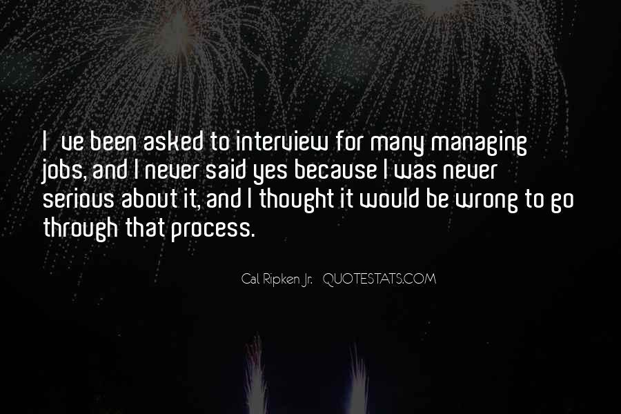 Cal Ripken Jr. Quotes #1138560