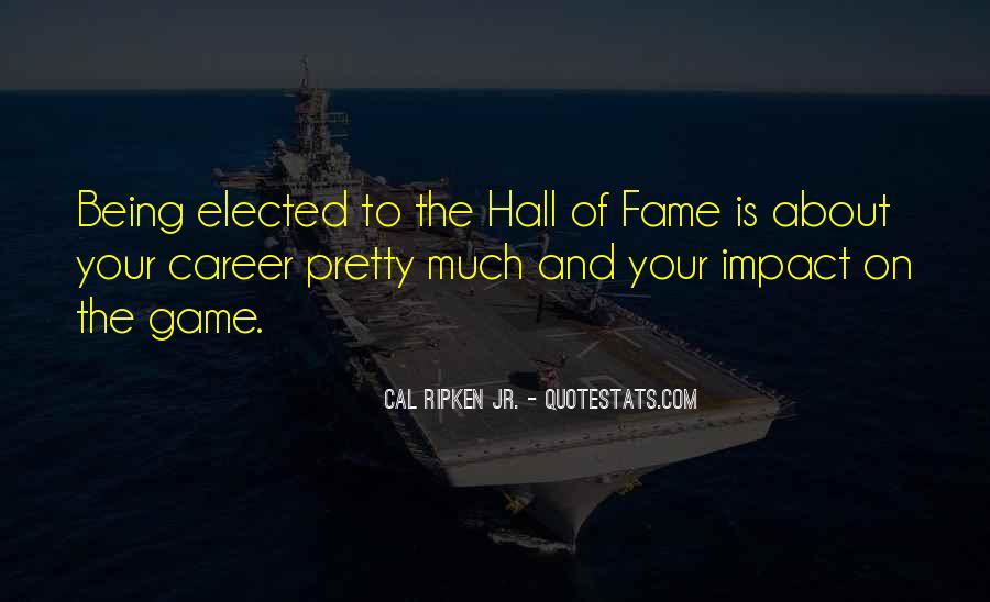 Cal Ripken Jr. Quotes #1623353