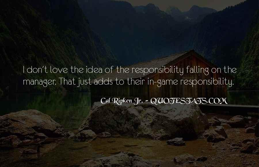 Cal Ripken Jr. Quotes #596172
