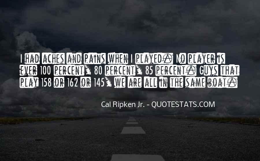 Cal Ripken Jr. Quotes #698494