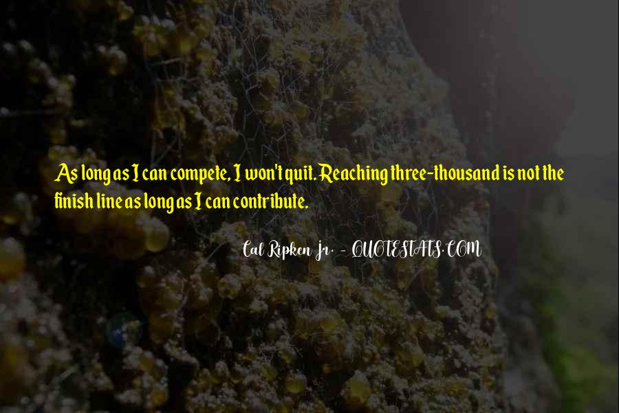 Cal Ripken Jr. Quotes #98101
