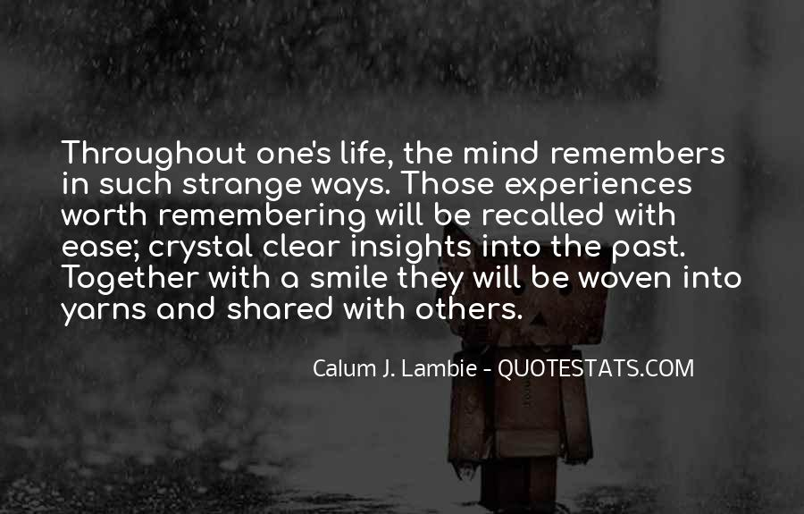 Calum J. Lambie Quotes #1845581