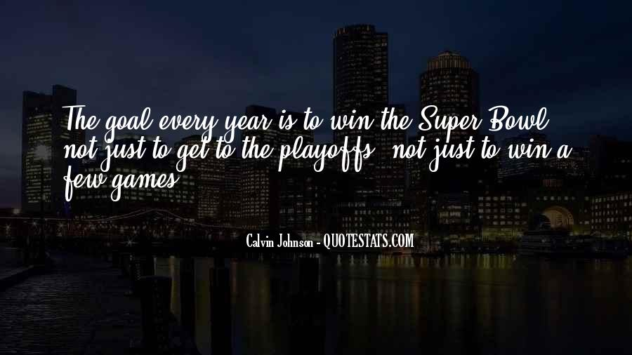 Calvin Johnson Quotes #163723