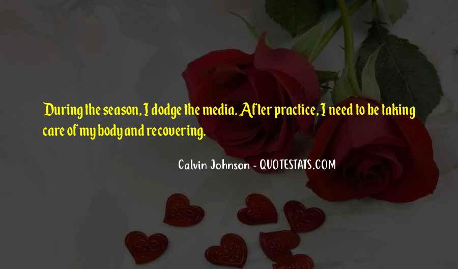 Calvin Johnson Quotes #1677294