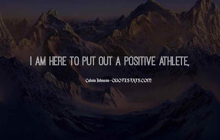 Calvin Johnson Quotes #641383