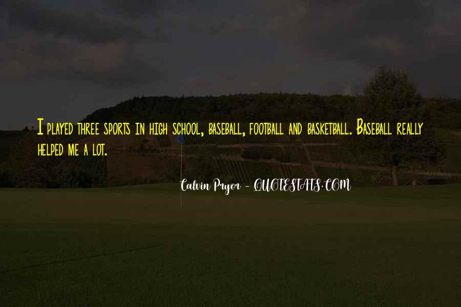 Calvin Pryor Quotes #428422