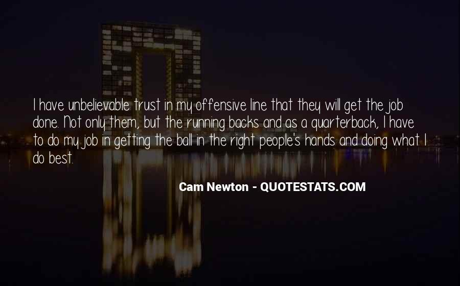 Cam Newton Quotes #1056247