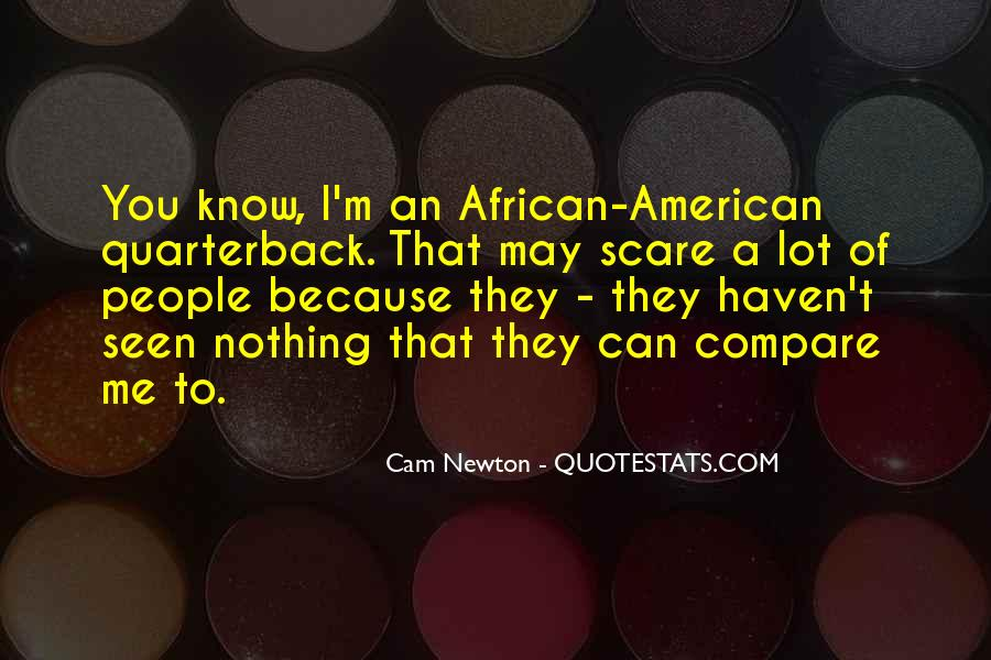 Cam Newton Quotes #413850