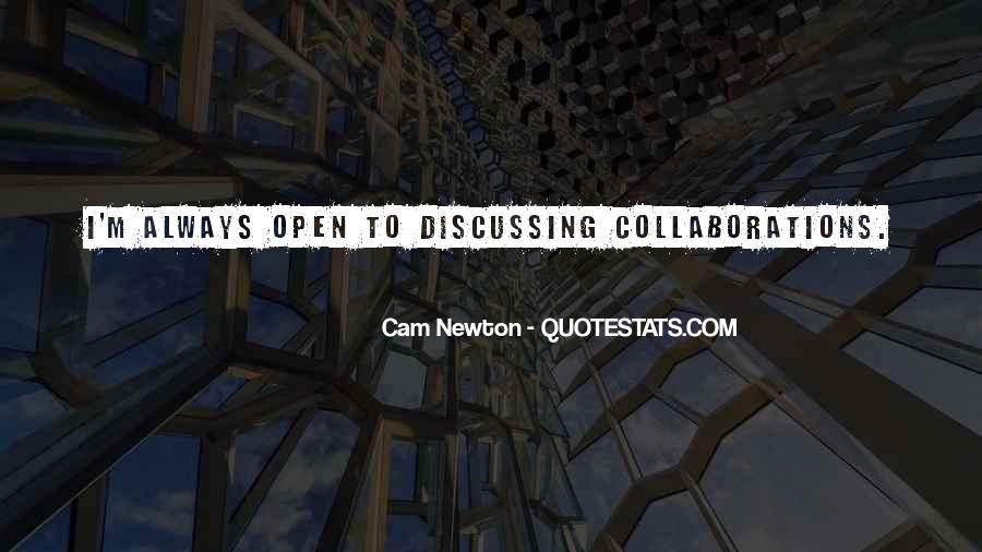 Cam Newton Quotes #911423