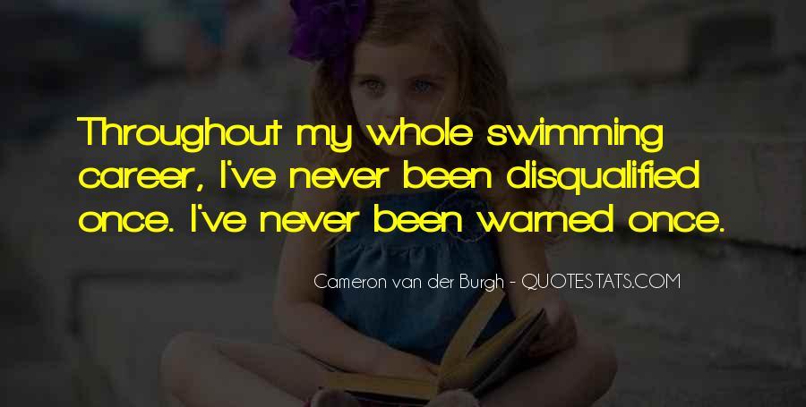 Cameron Van Der Burgh Quotes #717365